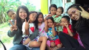 Anak - anak di Desa Tebas