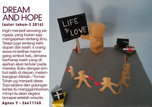 DREAM AND HOPE 2014