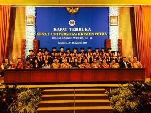 Bersama angkatan 2011 Jurusan Teknik informatika